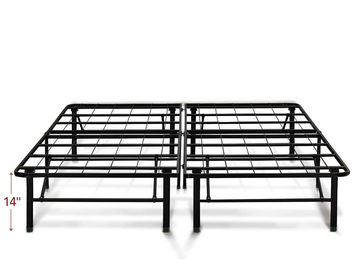 "14"" Heavy duty platform bed frame"