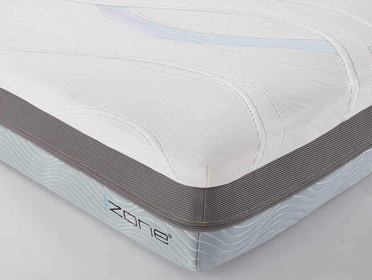 Corner detail image of queen izone mattress