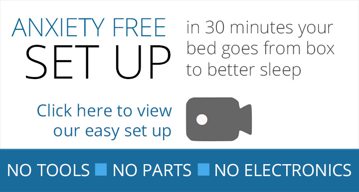 Set up your izone bed in 30 minutes